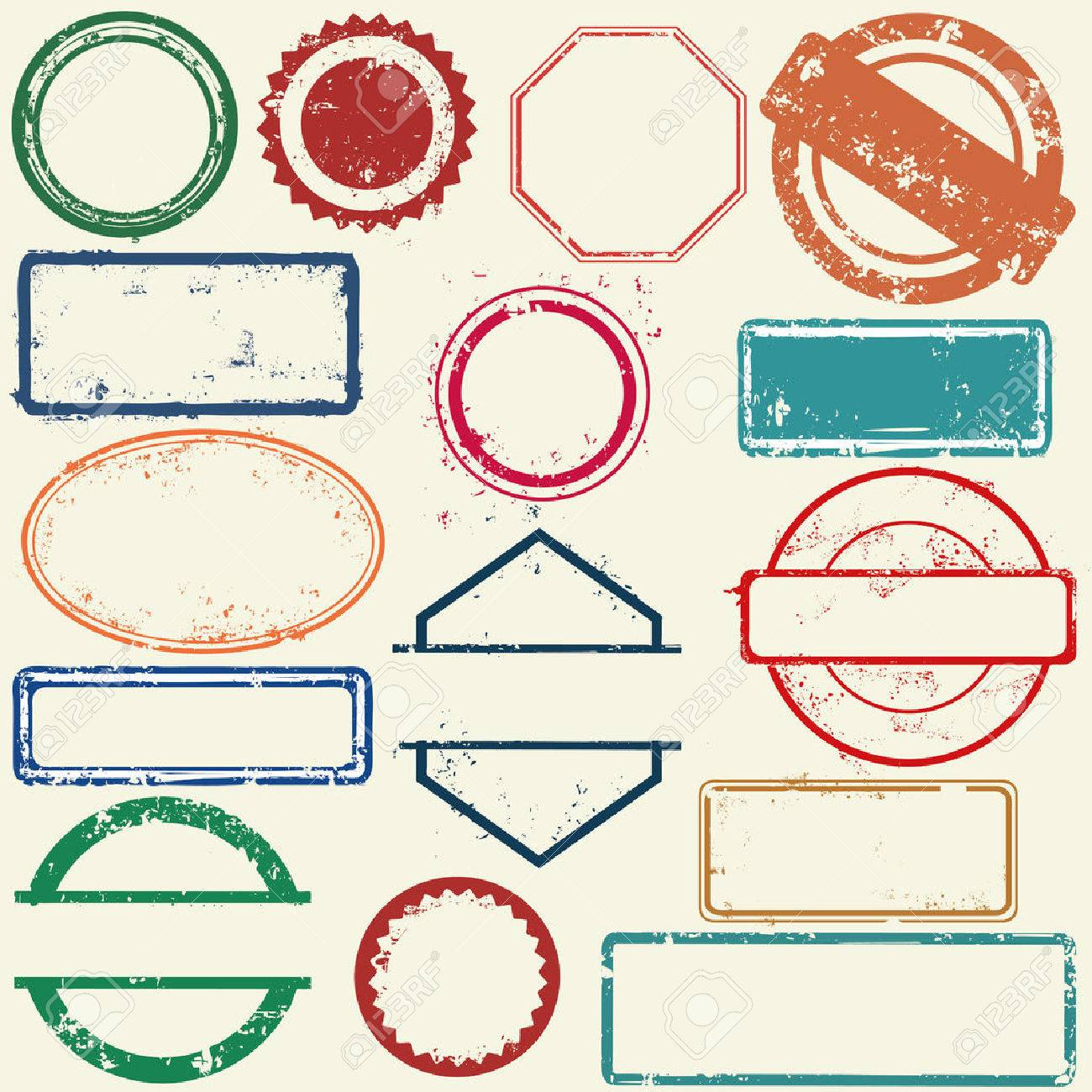 Stamps frames - 51797143
