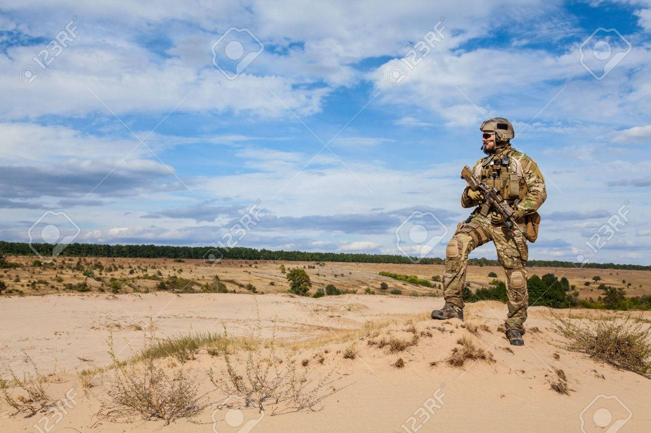 Green Berets US Army Special Forces Group soldier - 55386759