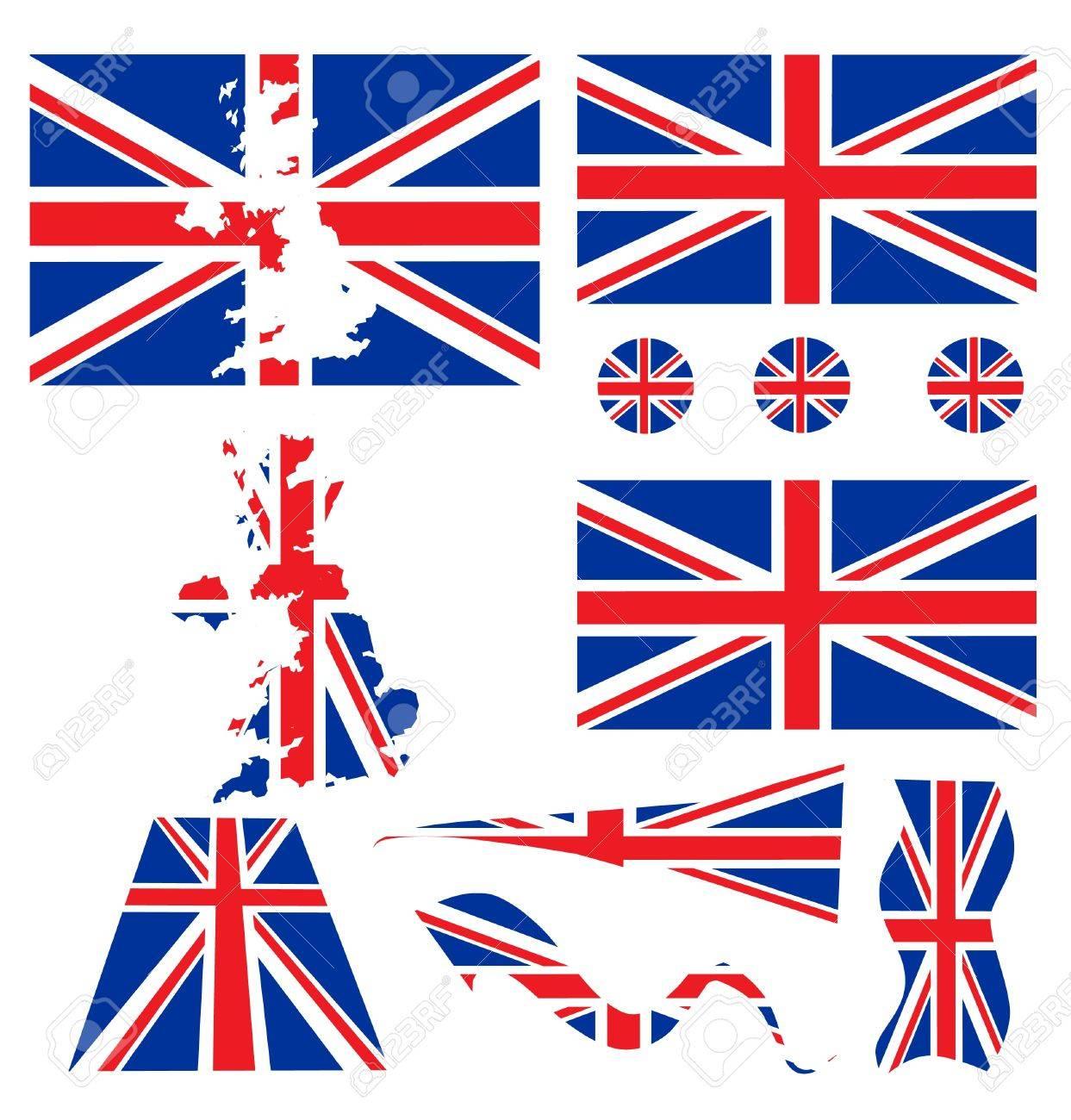 uk flag Stock Vector - 8971822