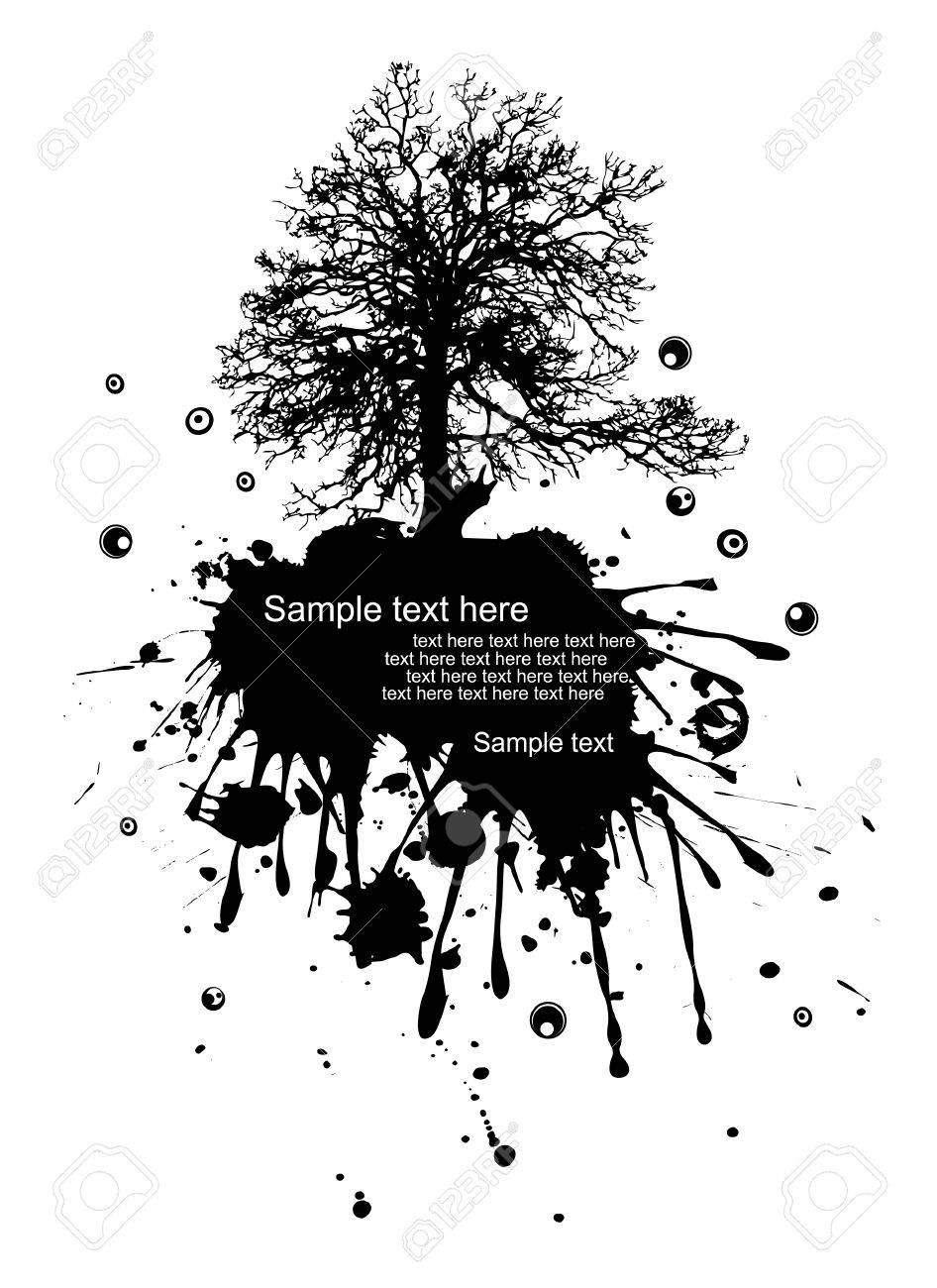 Vector illustration of a modern grunge nature Stock Vector - 8973839