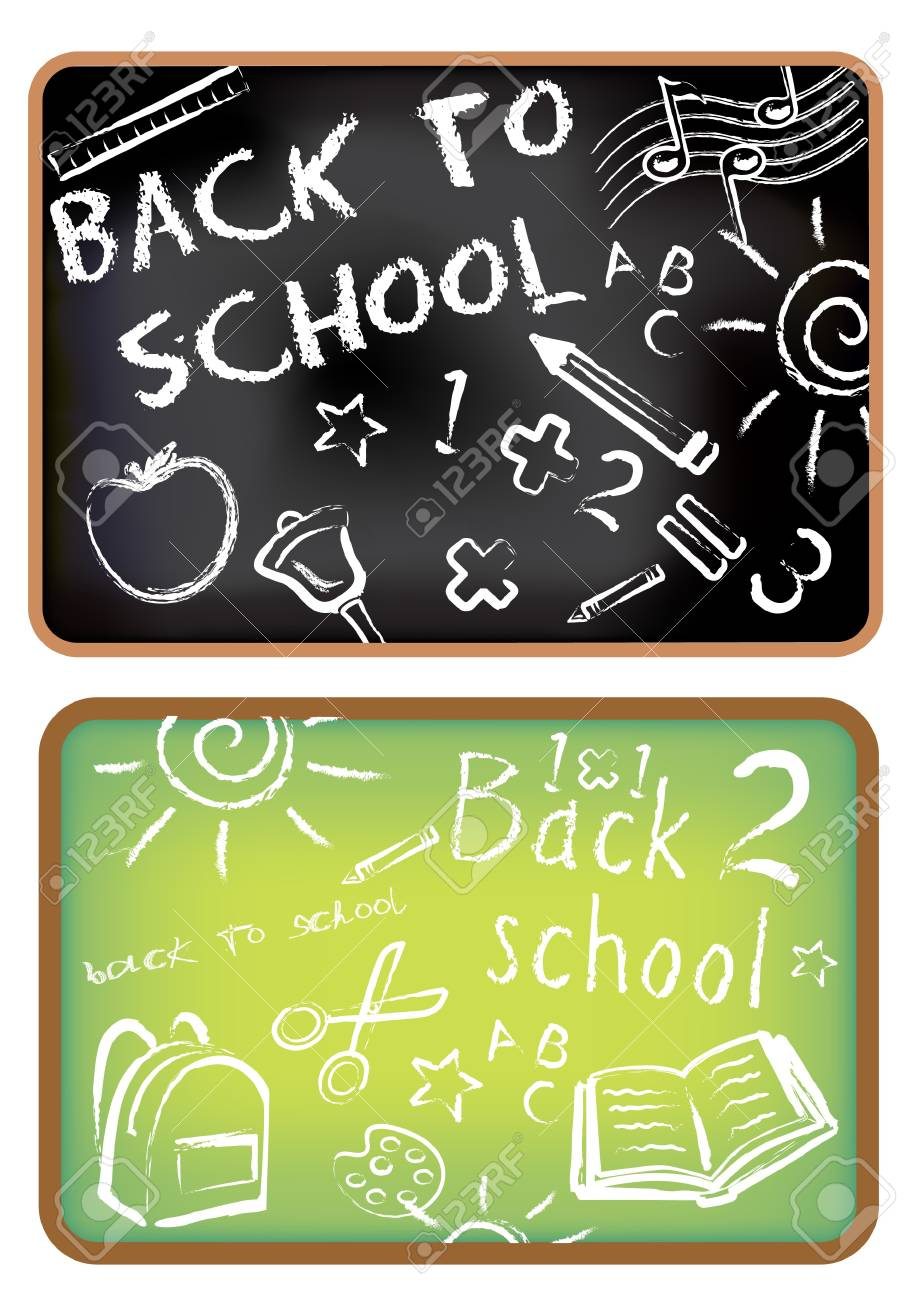 Back to school doodle Stock Vector - 11551264