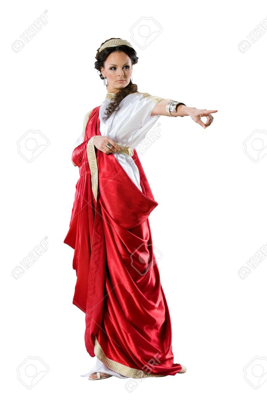 Roman Women Dress