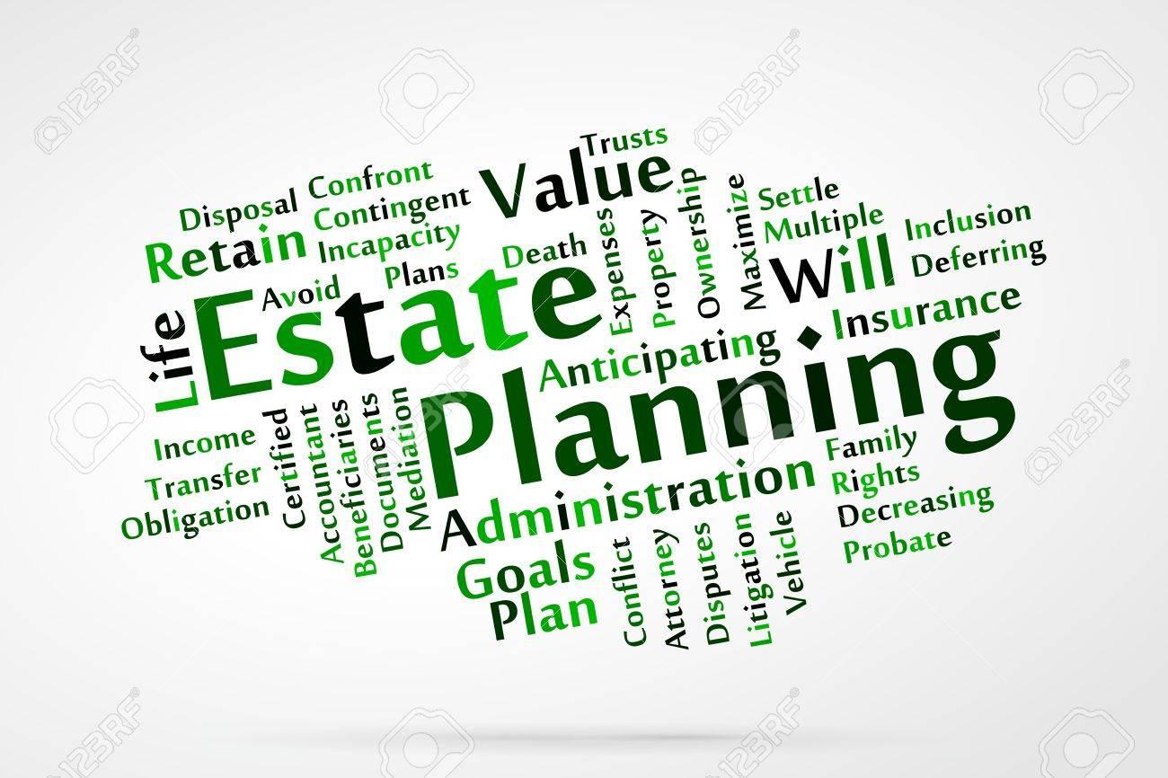 Estate planning word cloud - 21176643