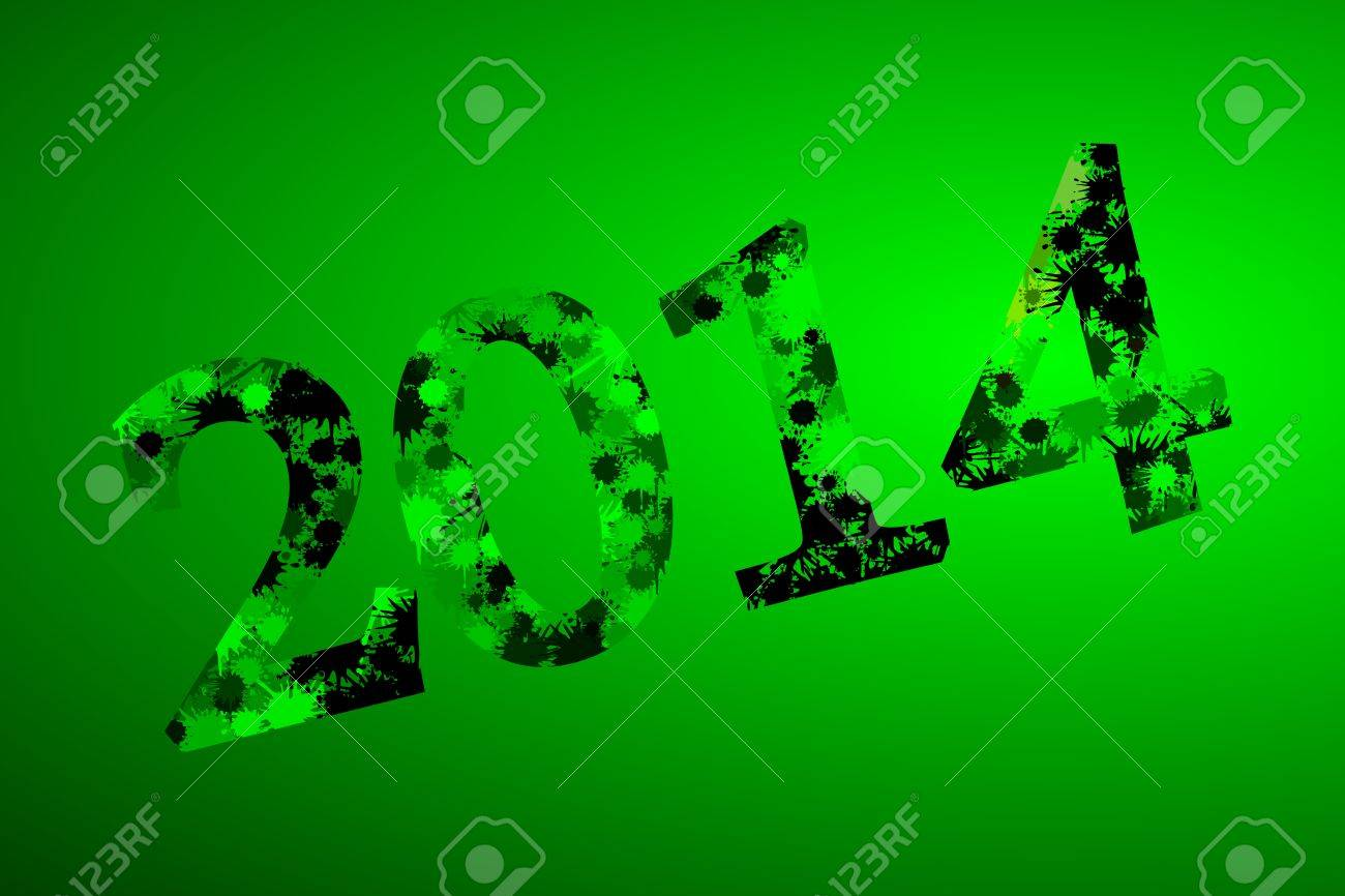 2014 abstract splash background Stock Vector - 21635420
