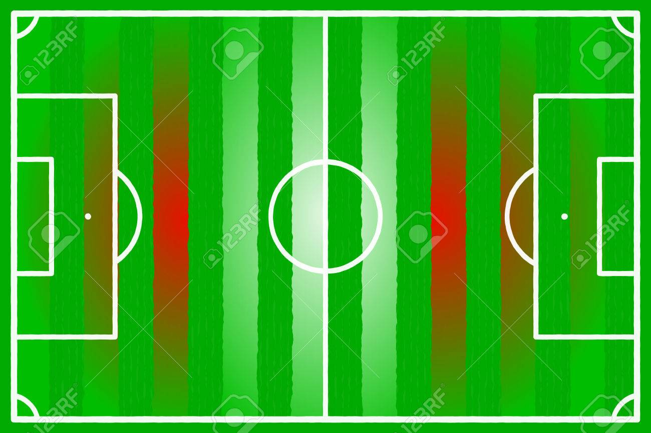 Soccer field abstract Austria, Denmark, Switzerland, Canada, Latvia flag Stock Vector - 22206558
