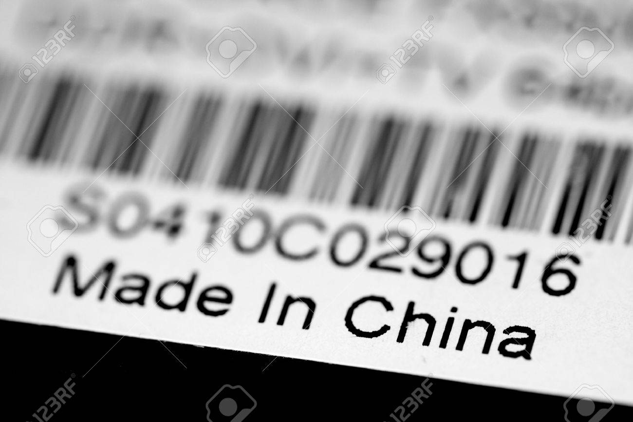 Resultado de imagen de made in china etiqueta