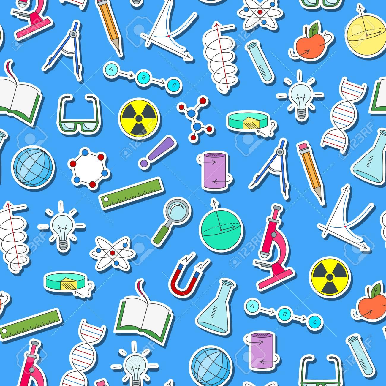Patrón Sin Fisuras En El Tema De La Ciencia Y Los Inventos ...