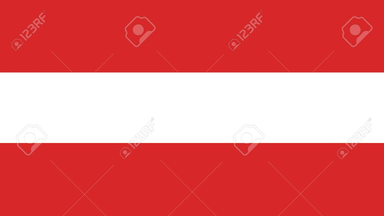 Flag of Austria illustration.calligraphy. Typography poster.Usable as Wallpaper background - 153705333