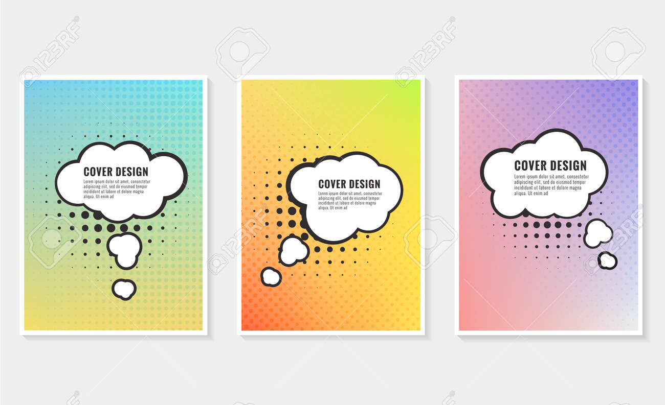 Pow, colorful speech bubble and explosions in pop art style. Elements of design comic books - 171657230
