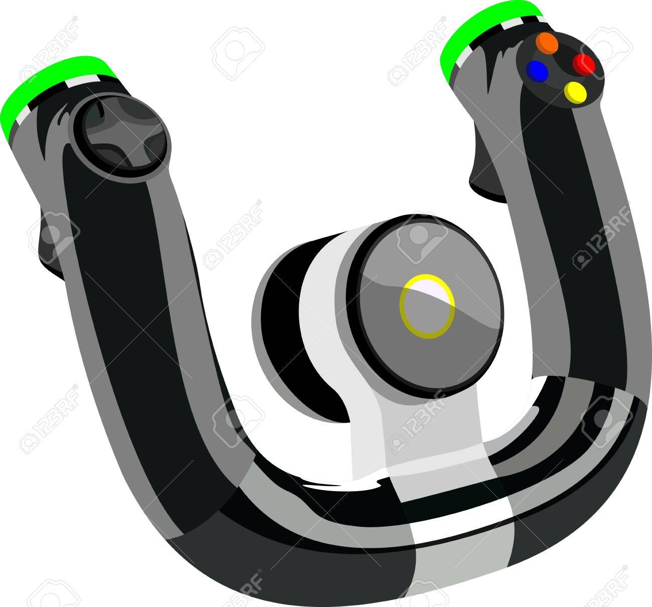 Control wheel Stock Vector - 14234272