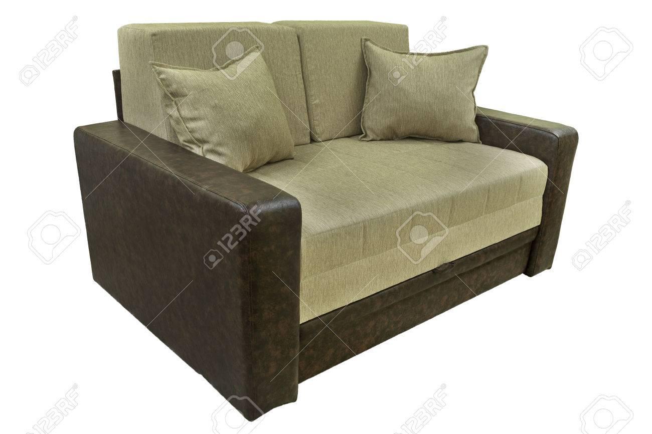 Modern Couch. Sofa For Home Interior. A Modern Retro Style Seafoam ...