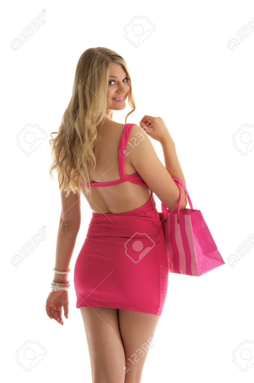 beautiful woman with shopping bags Stock Photo - 9574246