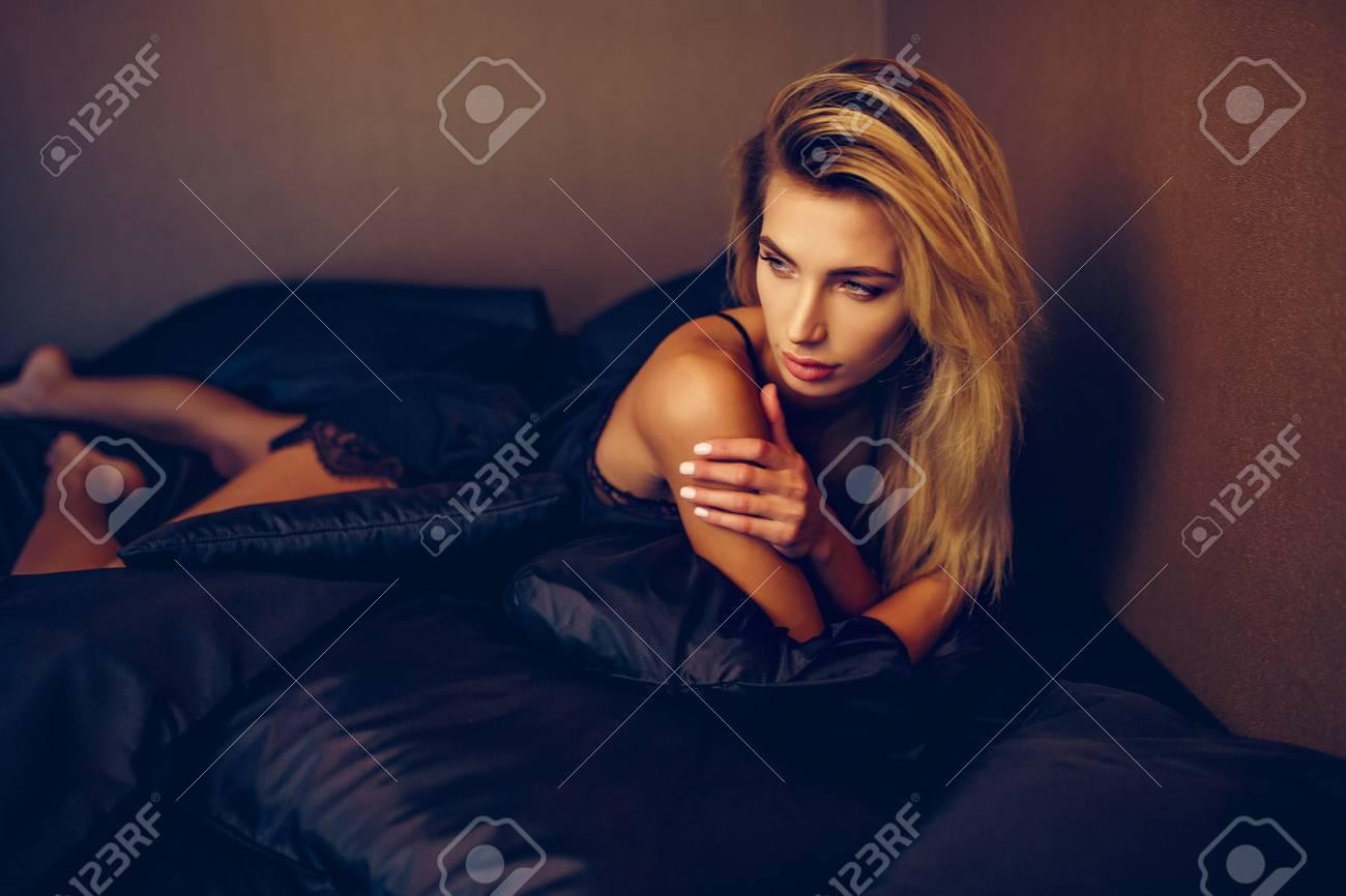 Girl In Her Underware