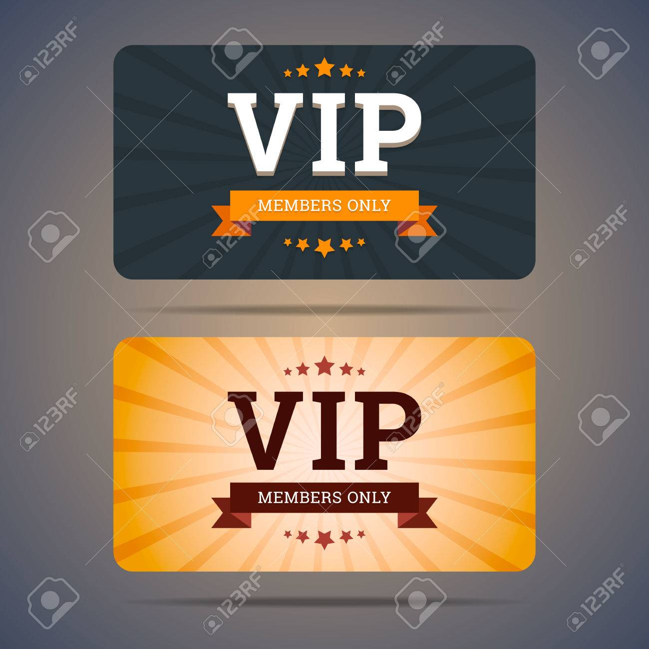 Vip club card design templates in flat style vector illustration vector vip club card design templates in flat style vector illustration maxwellsz