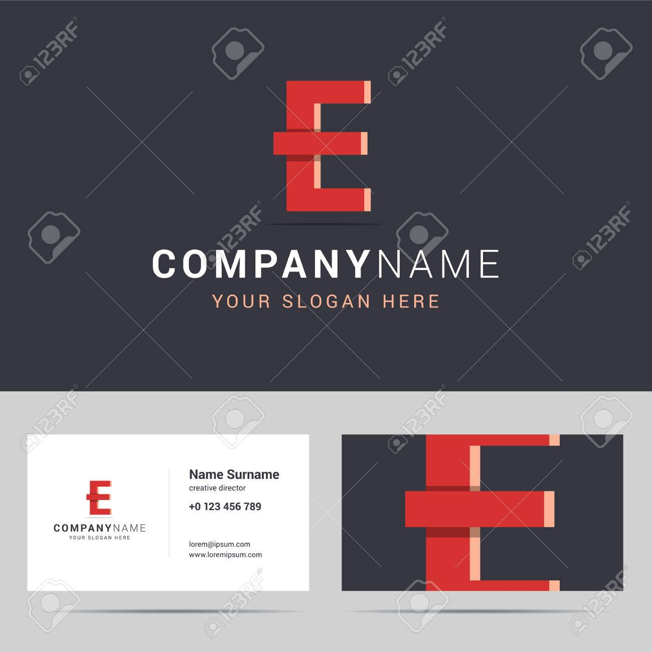 logotype logo template and business card template logotype