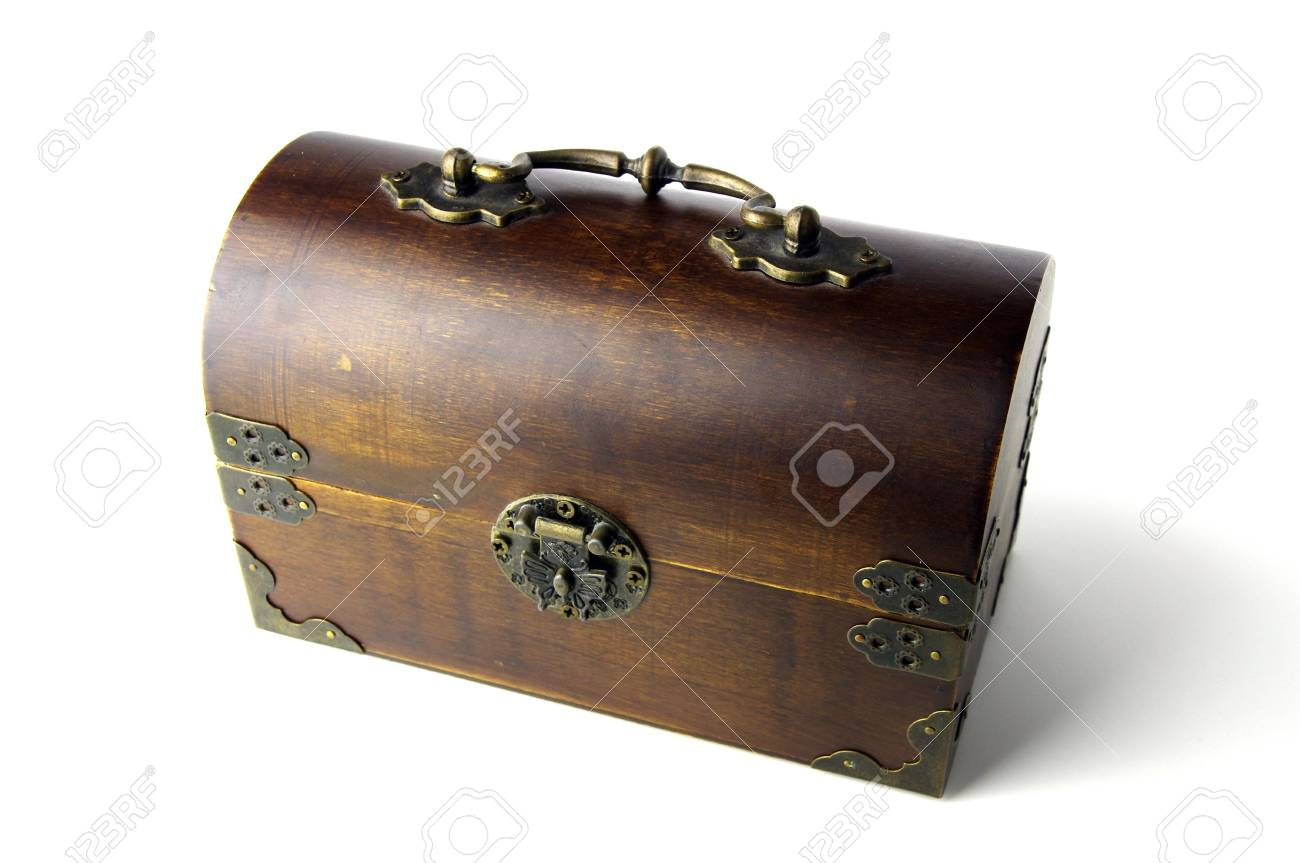 wooden jewelery box Stock Photo - 8532470