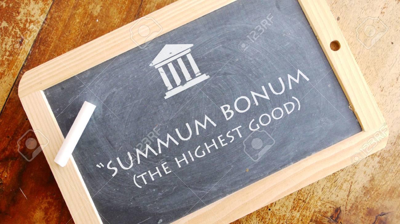 """Image result for summum bonum"""""""
