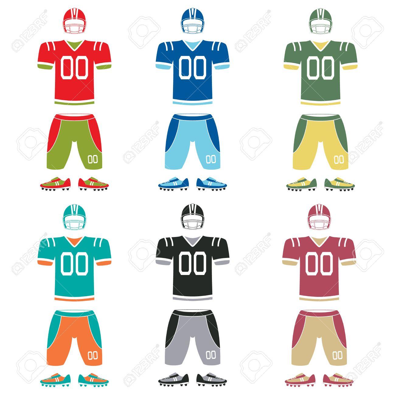 fc40661fe American Football Uniform
