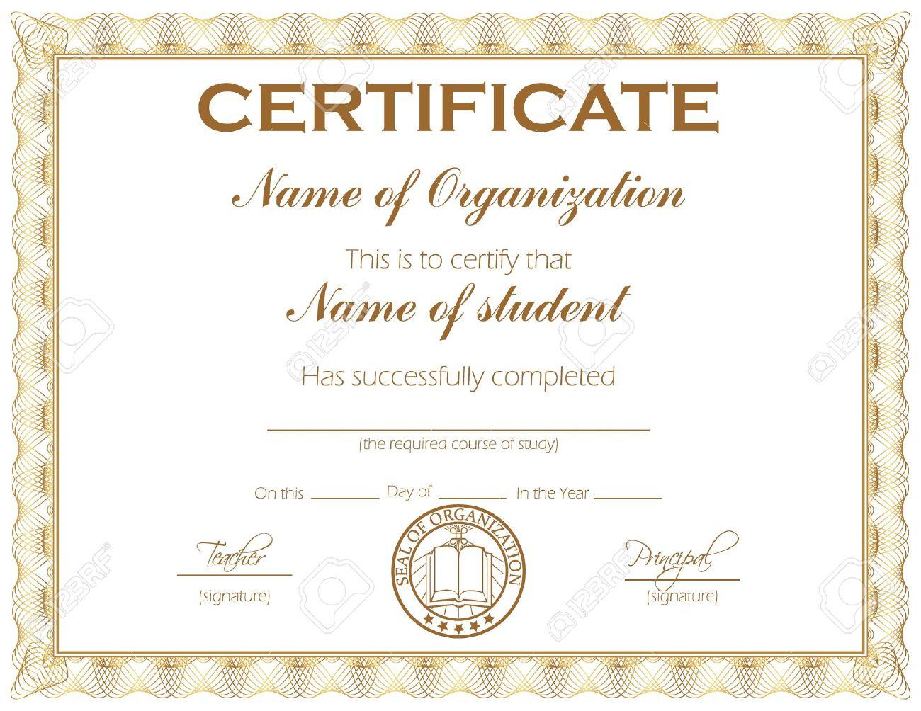 Generic award certificate pasoevolist generic award certificate yelopaper Gallery