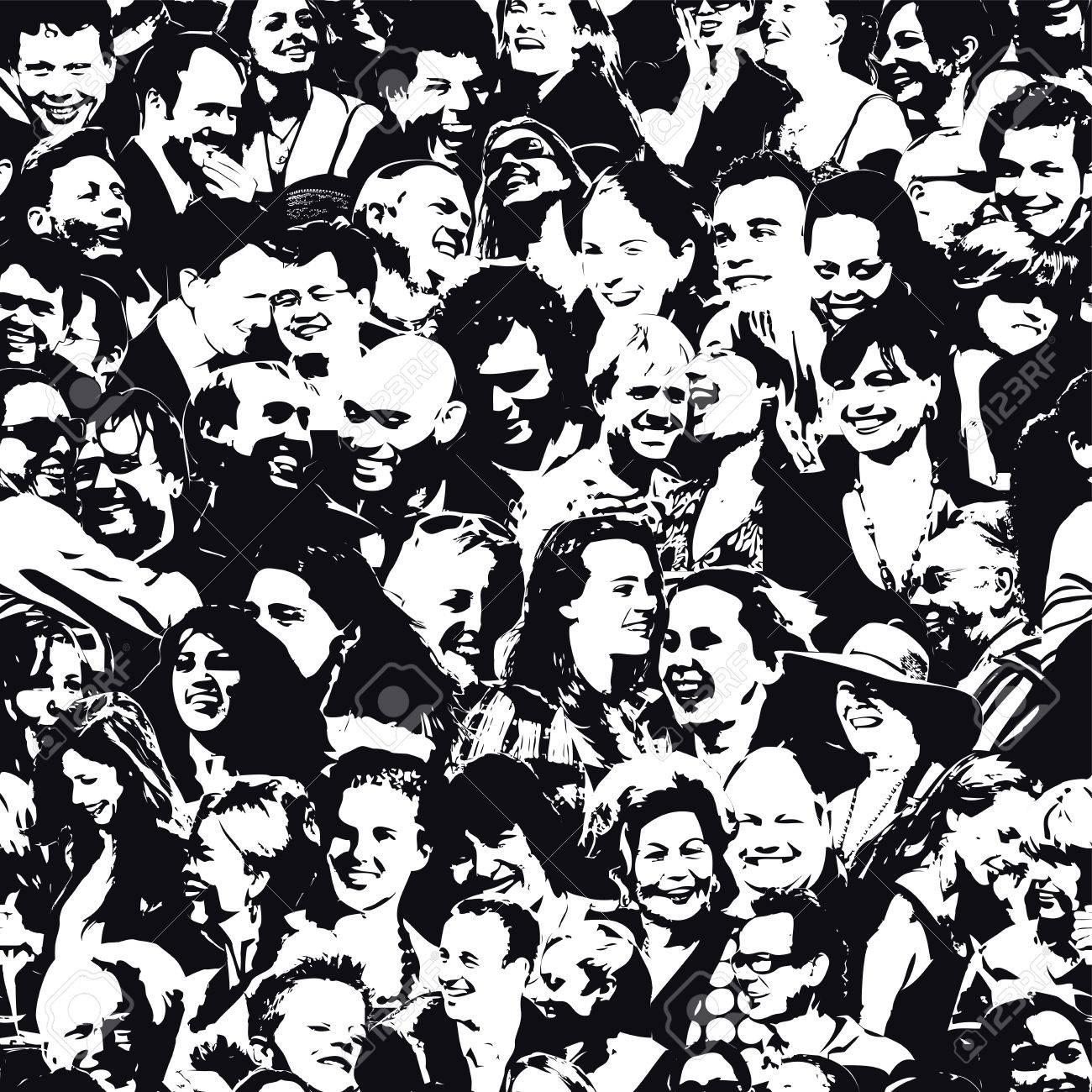 Happy People Background - 53979893
