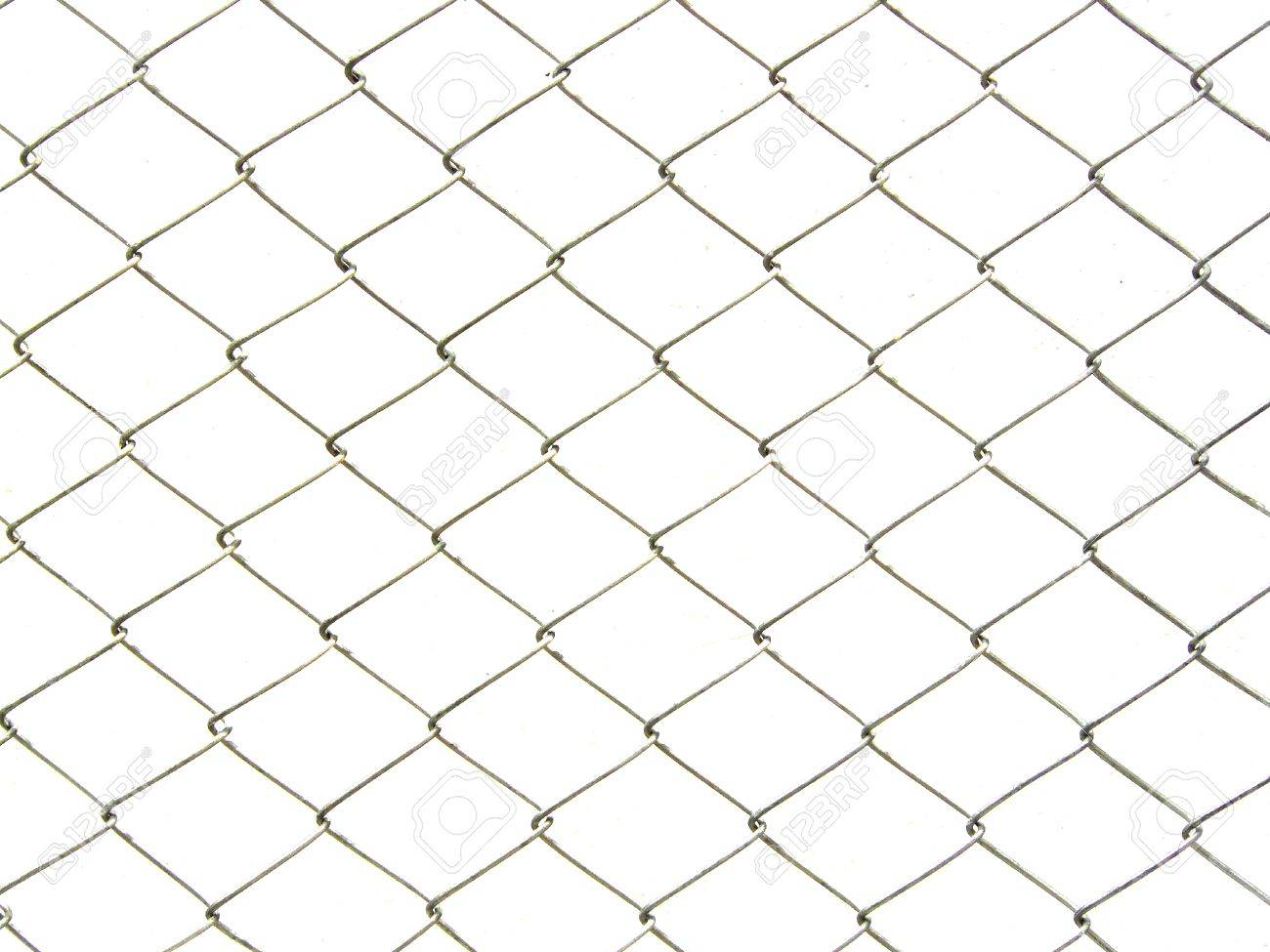 Repeating Chain Link Fence White Metal Wire Mesh Or Metal Net ...