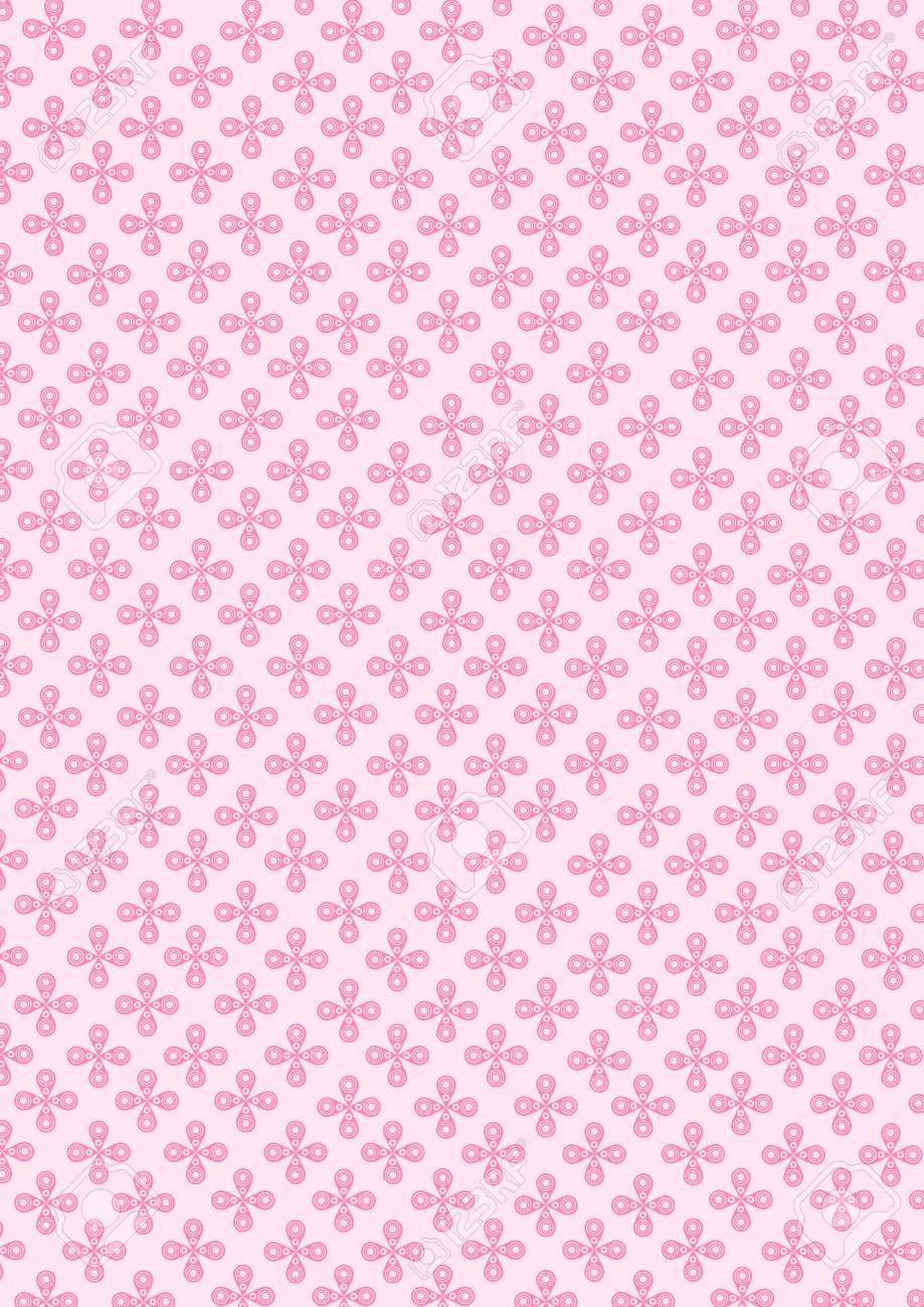 Flower Pink background pattern