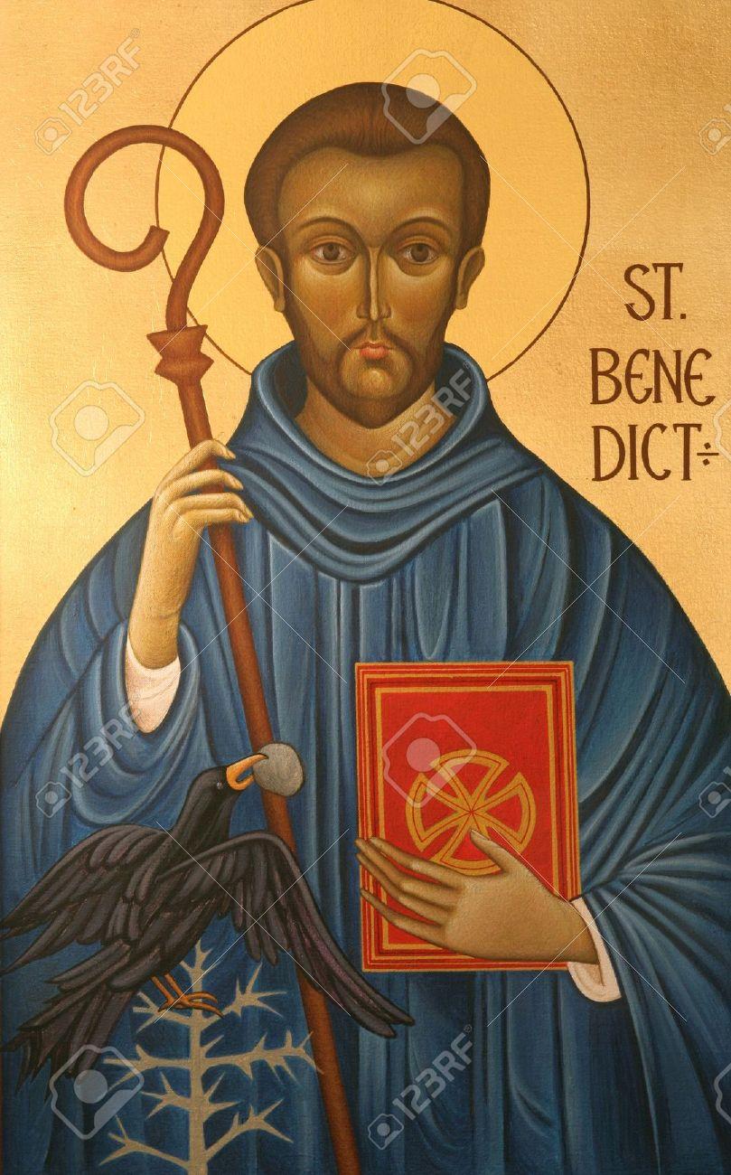 Saint Benedict of Nursia Stock Photo - 6002024