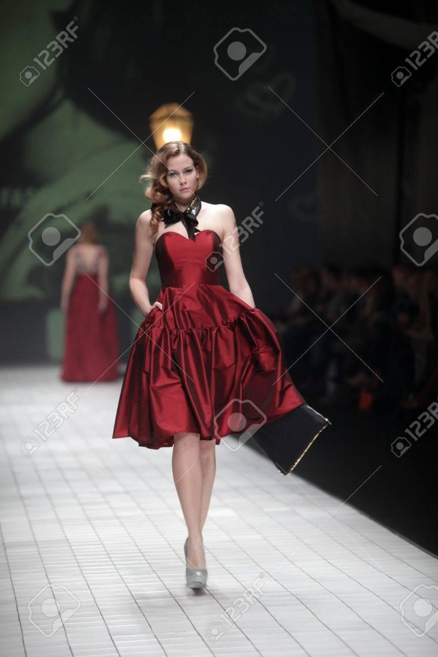 Red dress event zagreb