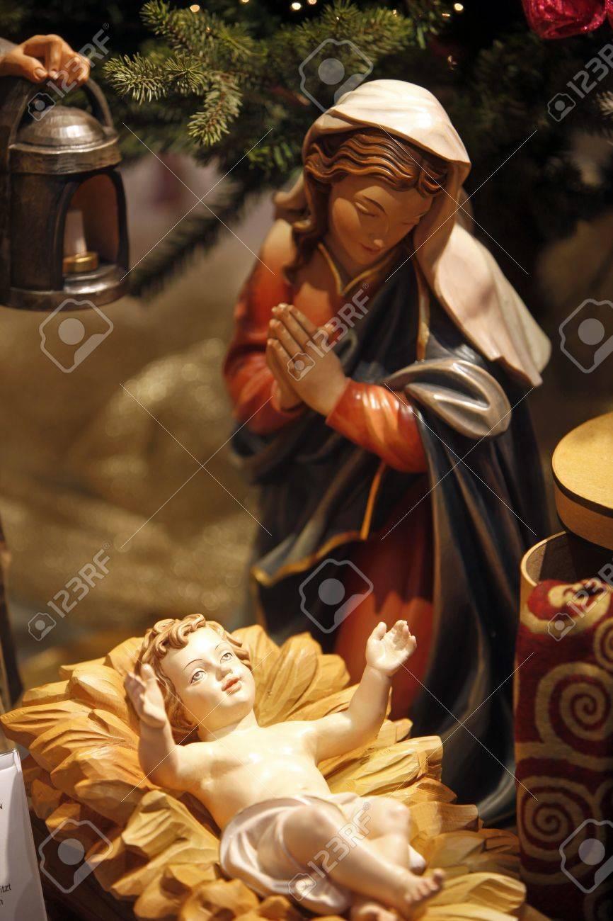 Nativity scene from Vienna shop Stock Photo - 14404208