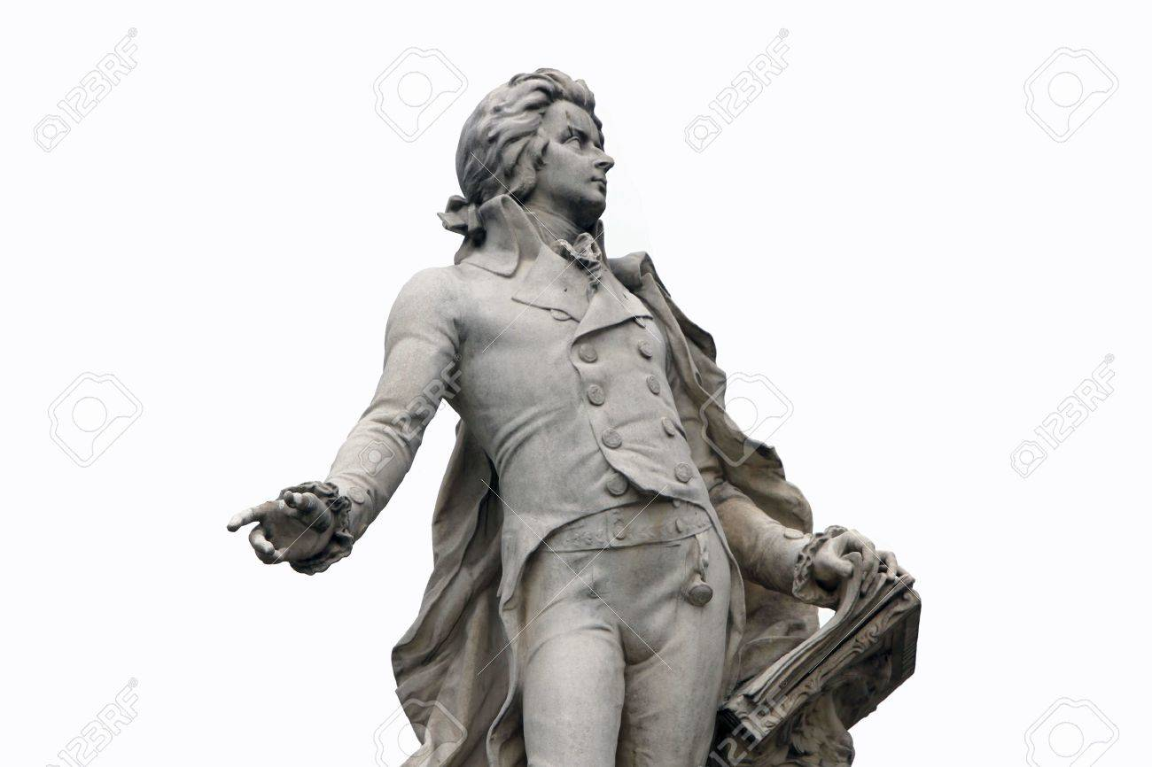 Statue of Mozart in Vienna, Austria Stock Photo - 14404197