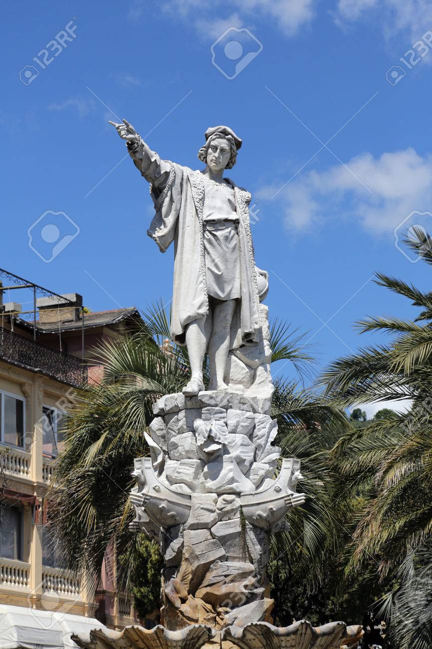 monument to christopher columbus by odoardo tabacchi 1892