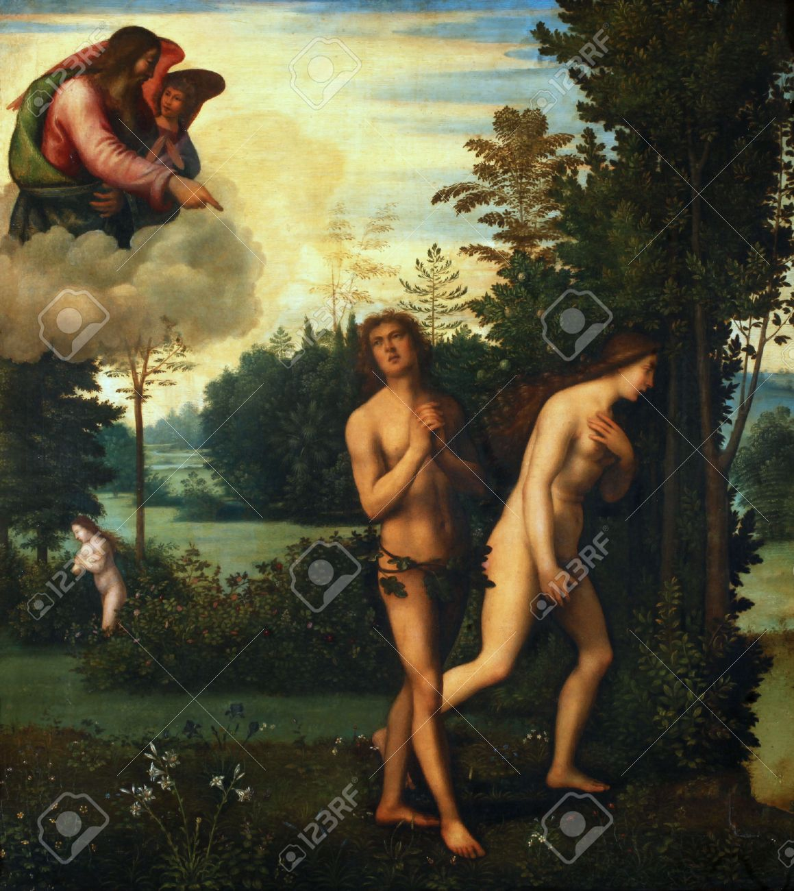 mariotto albertinelli expulsion of adam and eve from paradise