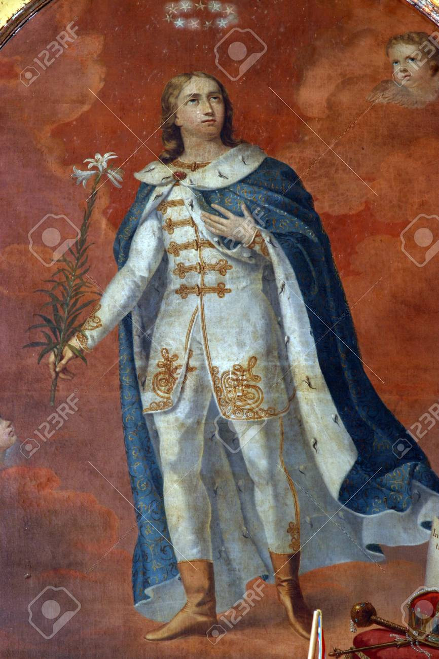 Saint Emeric Of Hungary Stock Photo, Picture And Royalty Free Image. Image  32682466.