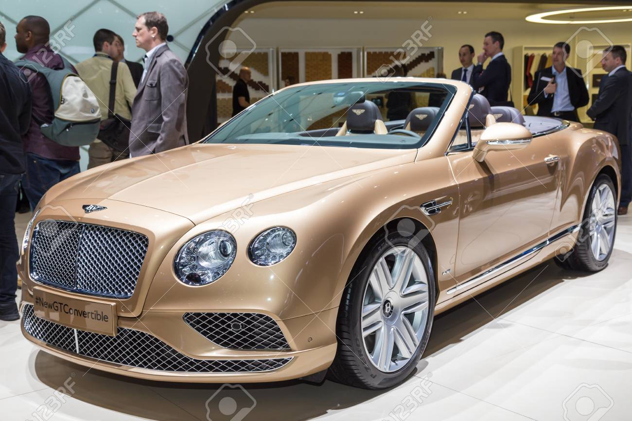 Bentley geneva 2015