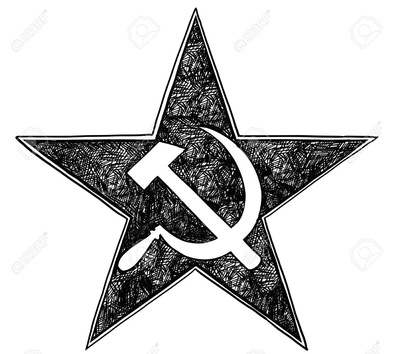 Hammer and sickle inside star symbol of communism and soviet hammer and sickle inside star symbol of communism and soviet union stock vector 80906944 biocorpaavc Gallery