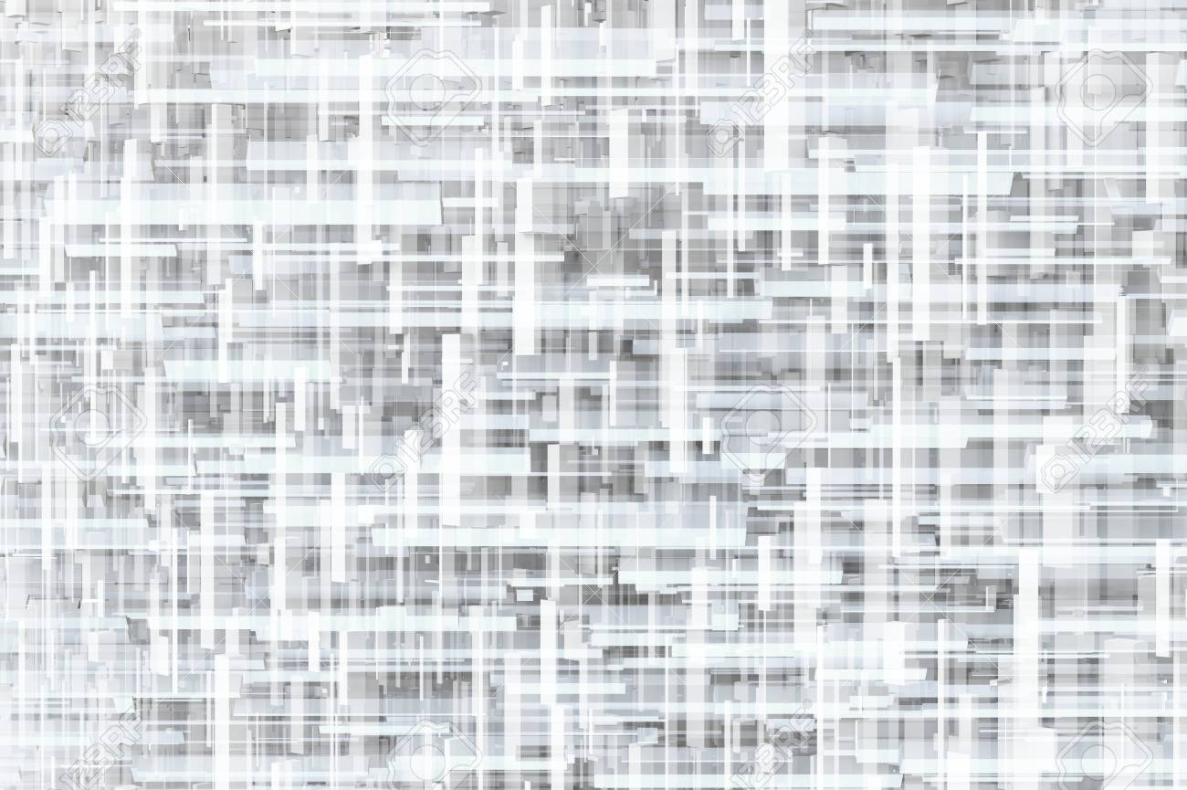 Abstract gray or black and white sci-fi 3d geometric texture