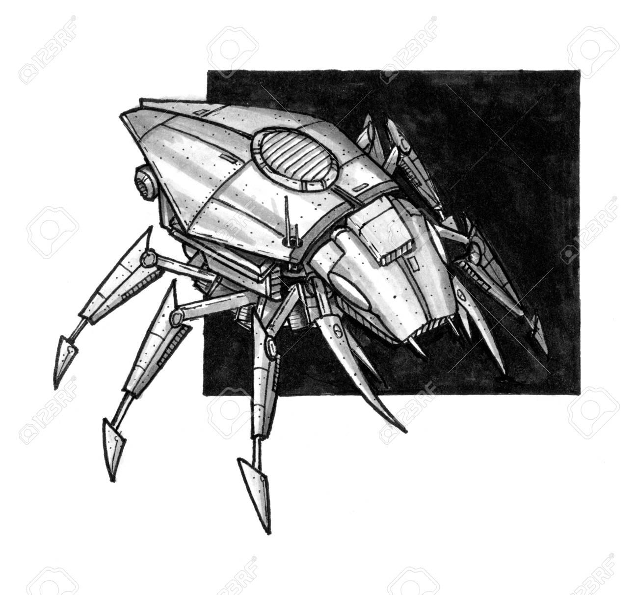 Concept Art Sci Fi Robot Soldier