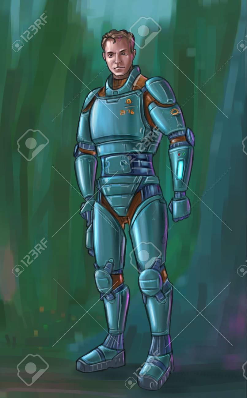 Concept Art Armor Suits