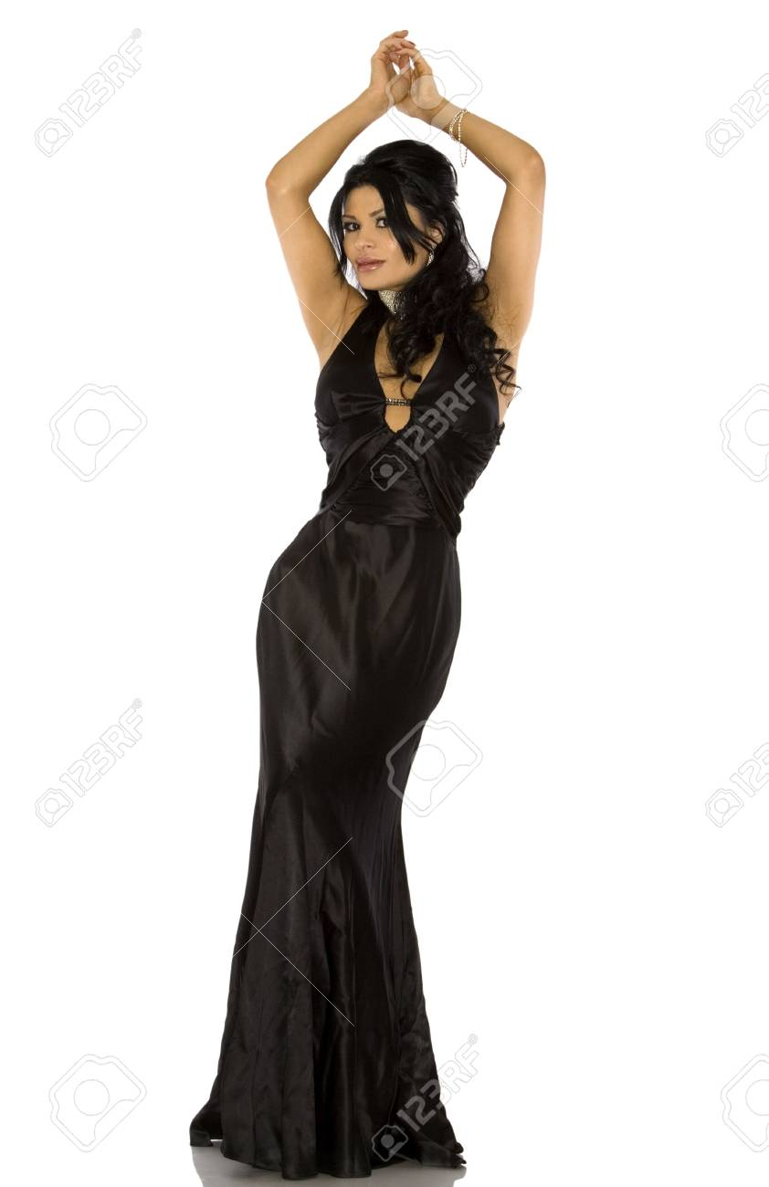 Vestido negro de pretty woman