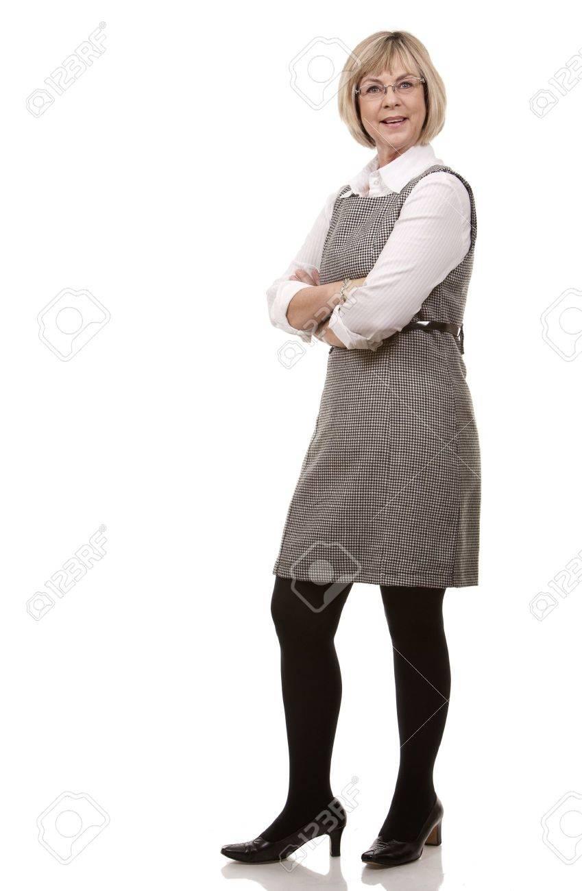 Классная зрелая женщина