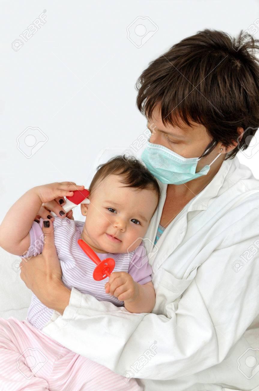 masque de protection bebe