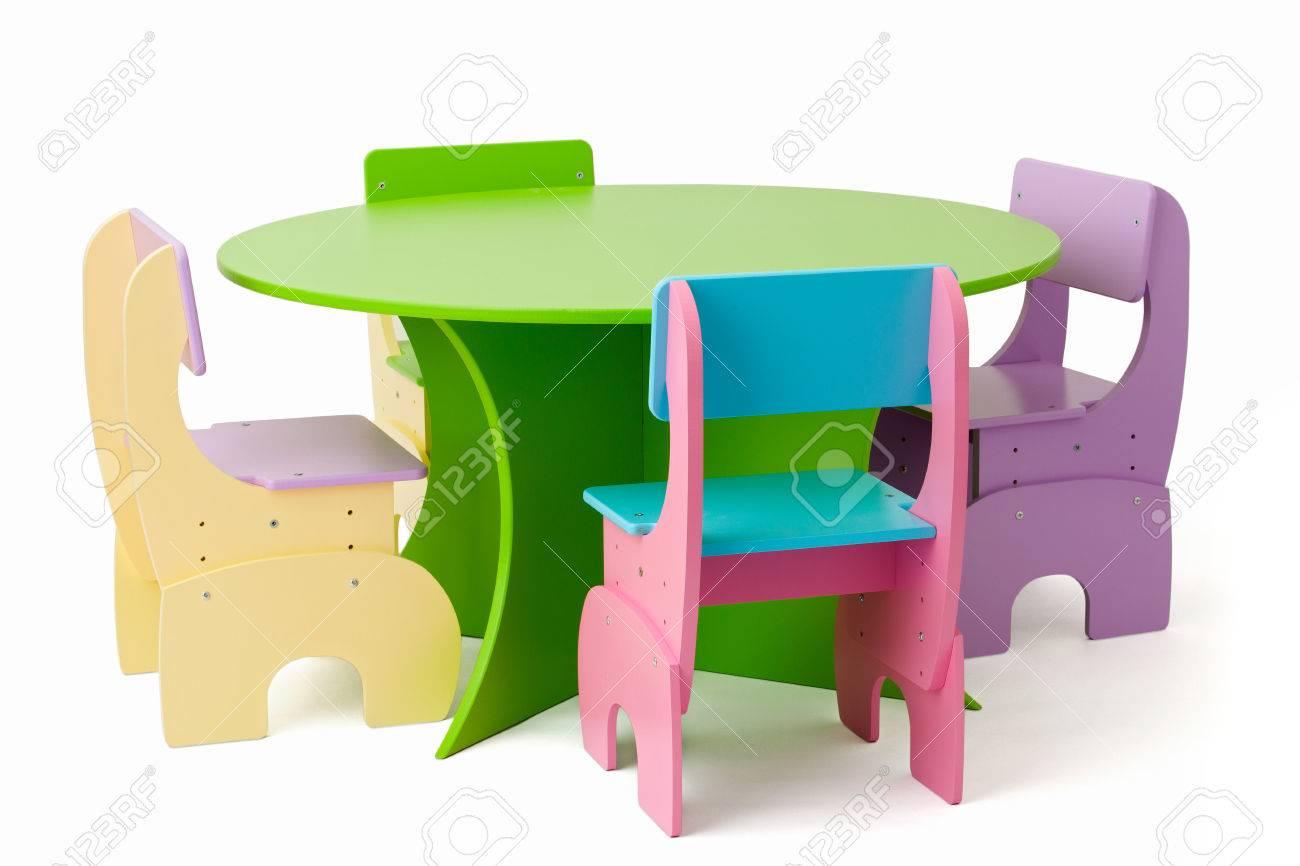 Juego De Muebles Para Bebé De Color, Mesa Y Sillas Se Pueden ...
