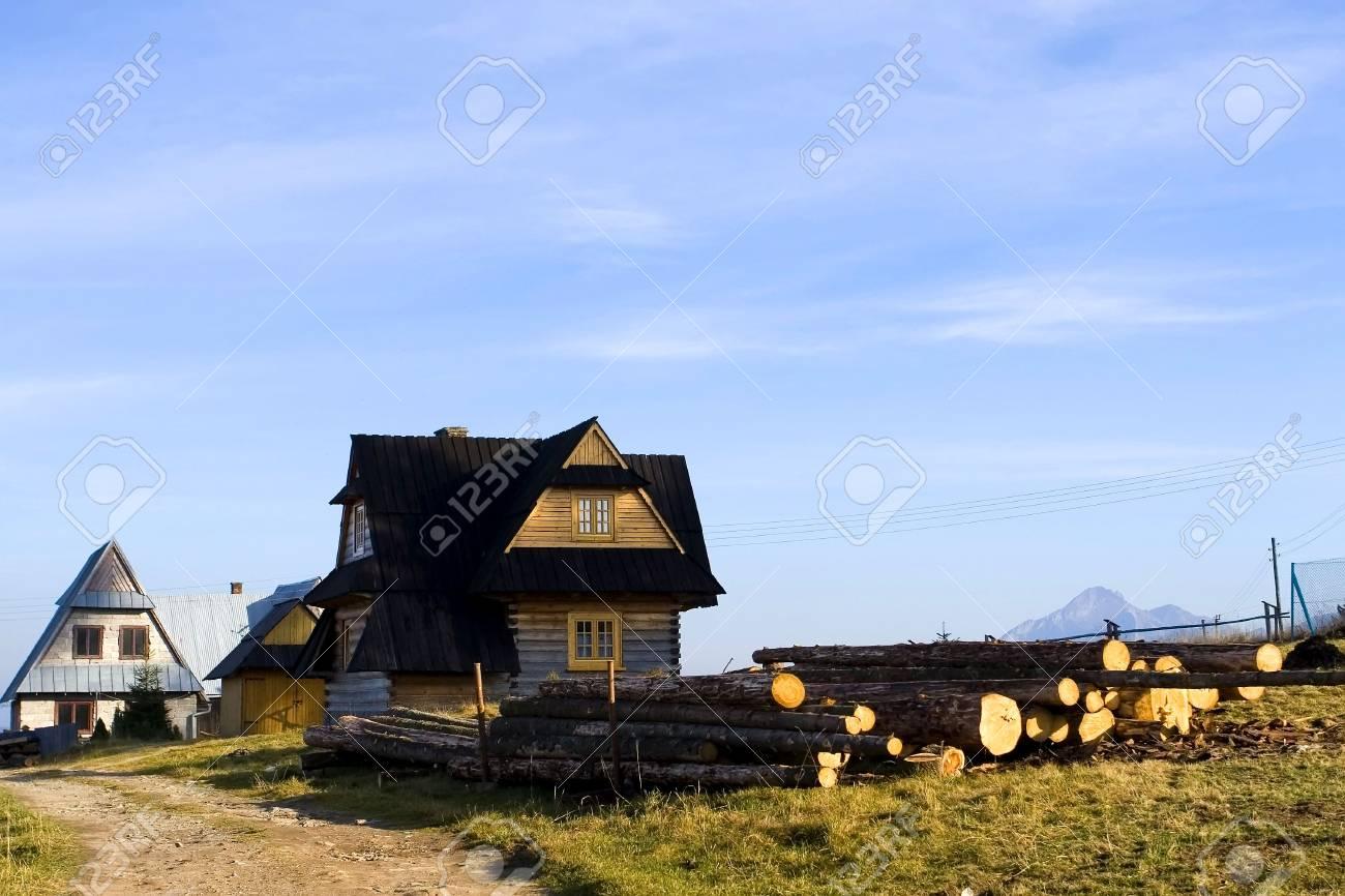 Traditional house in Zakopane Stock Photo - 3903937