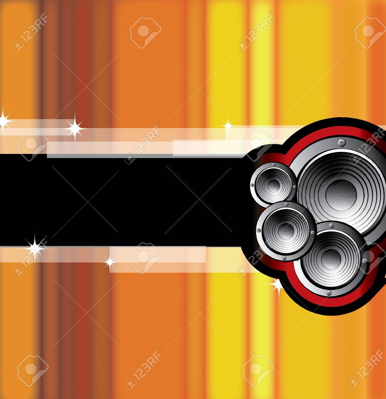 A vector illustration of a music Stock Vector - 9166604