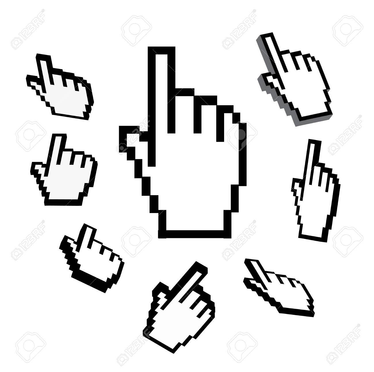 hand cursor Stock Vector - 9633986