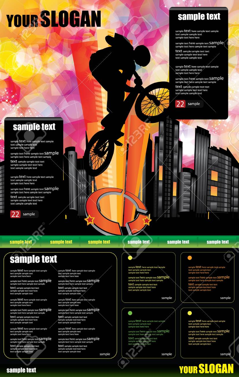 Web site design template Stock Vector - 9560183