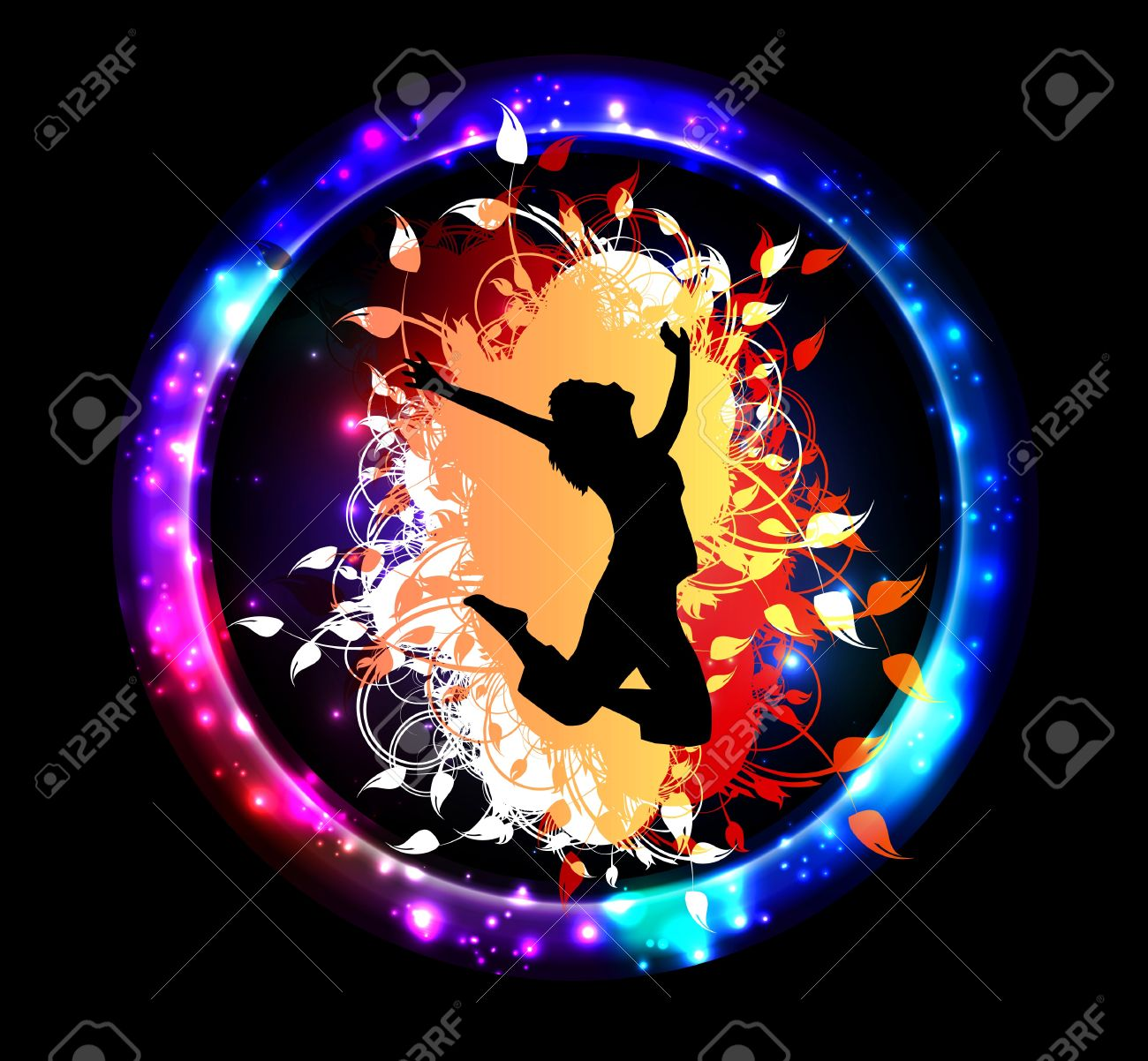Colorful Music Event Background Royalty Free Cliparts Vectors And