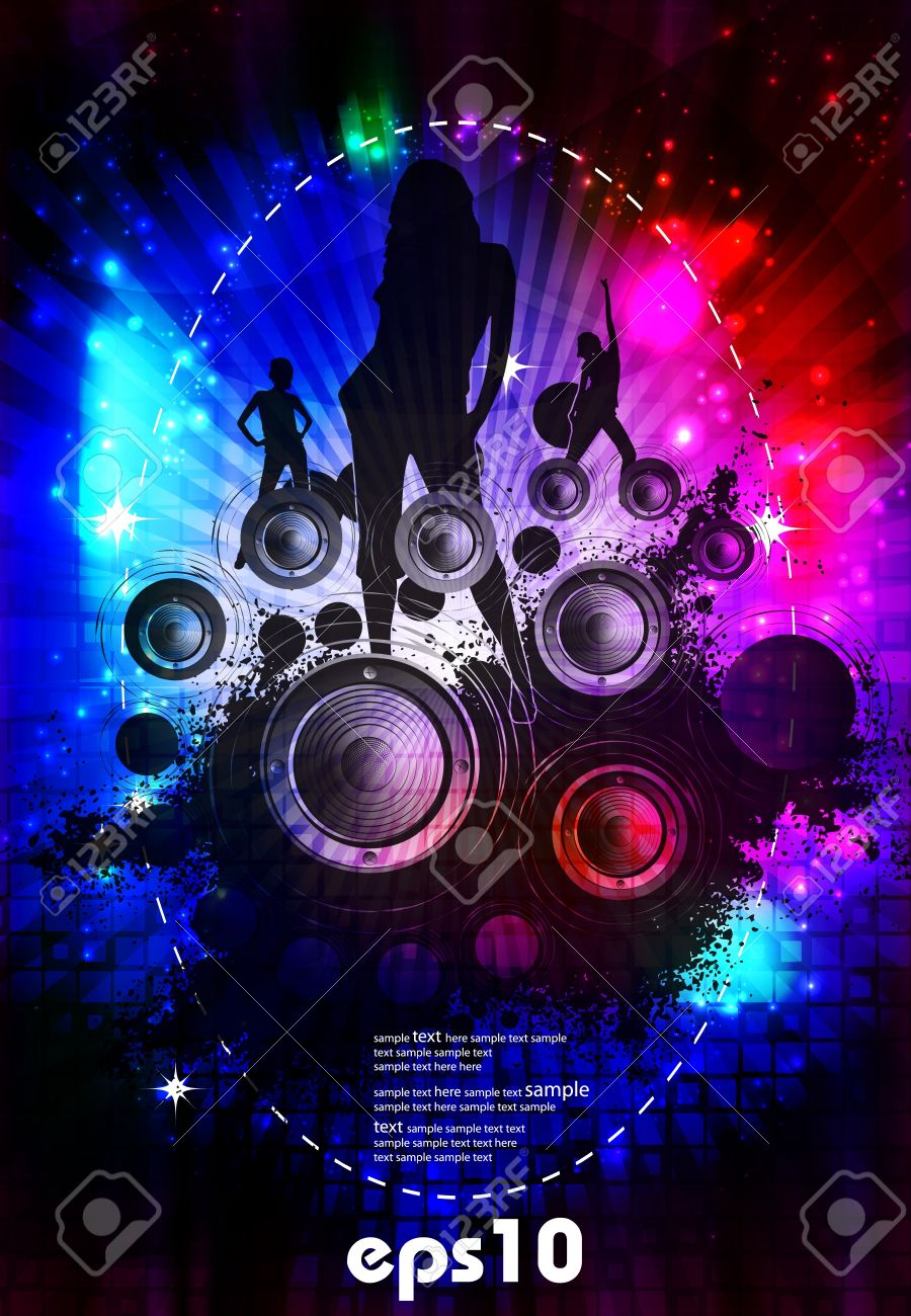Music Event Background Royalty Free Cliparts Vectors And Stock