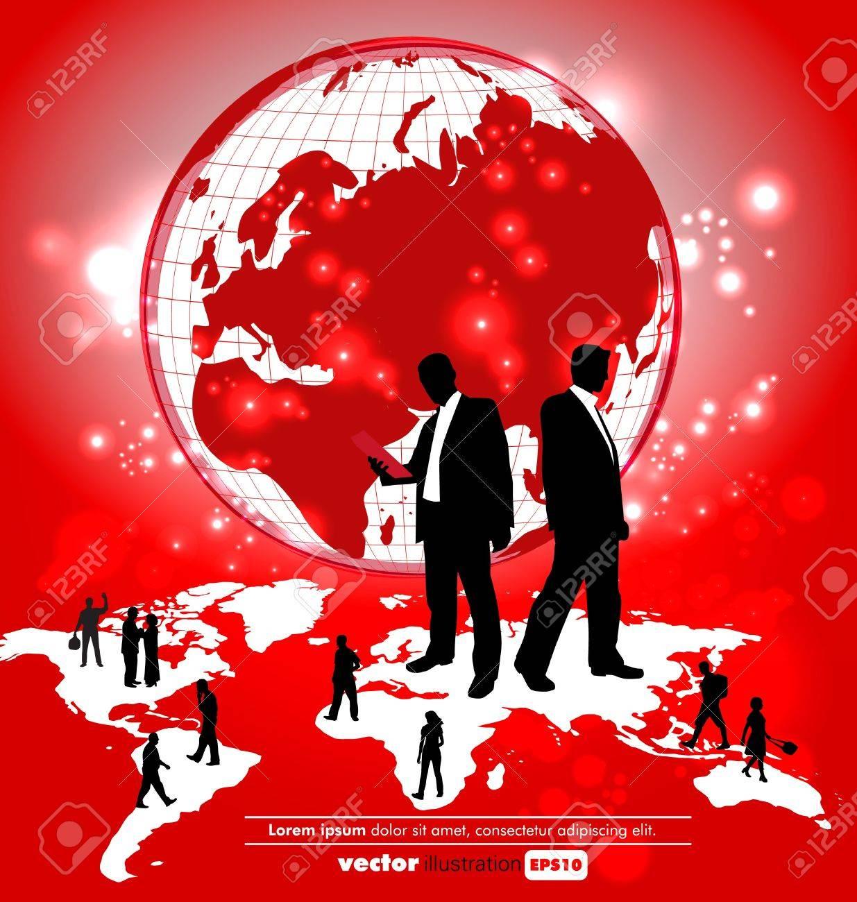 World organization Stock Vector - 11280315