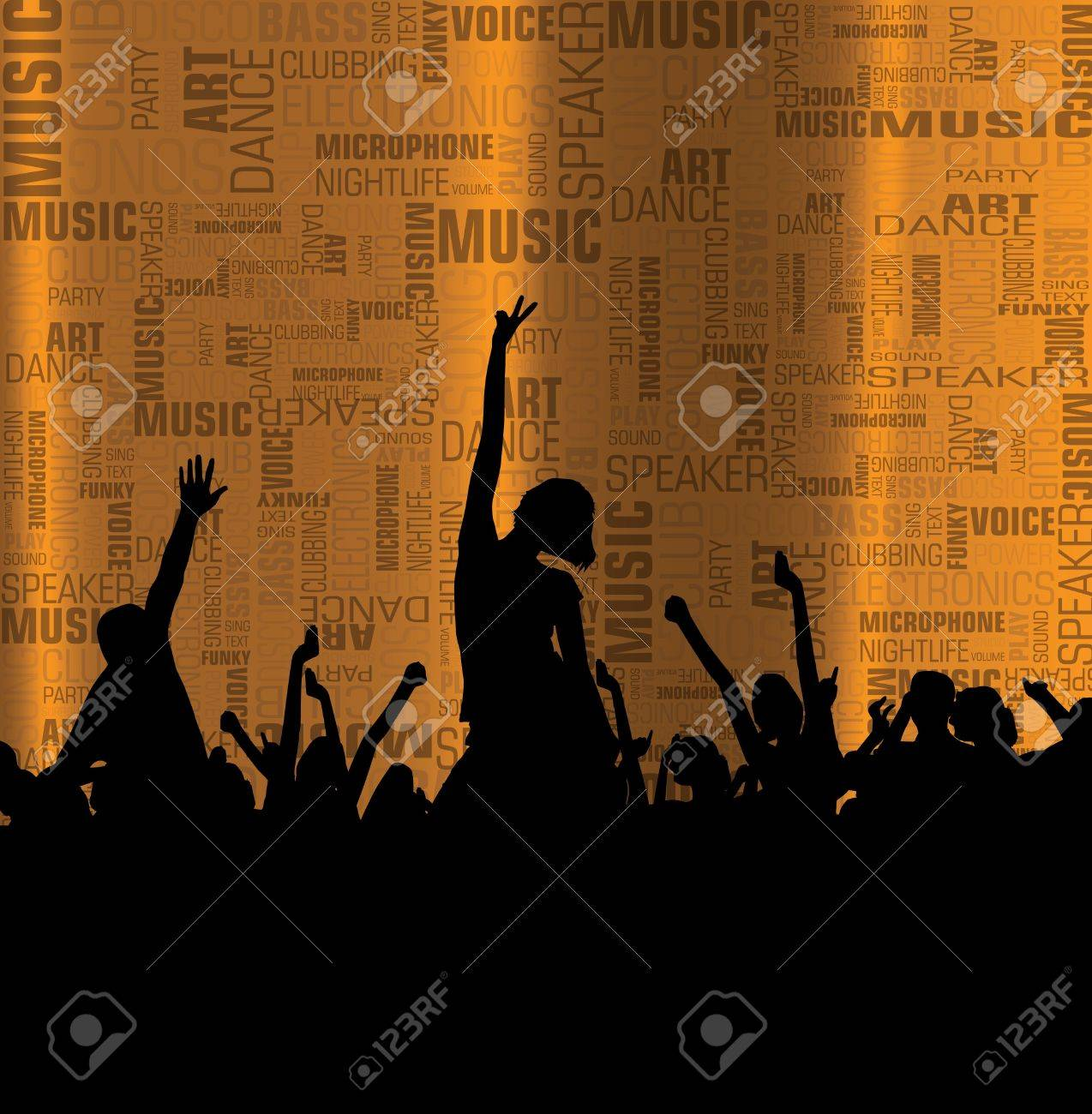 Party event illustration Stock Vector - 12840860